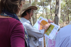 Ian Higgins discusses vegetation classes for the property