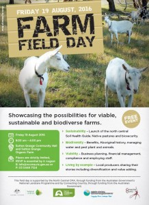 farm field day flyer